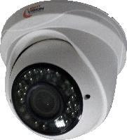 Внутренняя купольная AHD видеокамера 4 Мп VLC-3259DFA