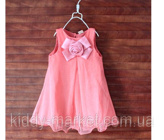 Платье нарядное детское Бант