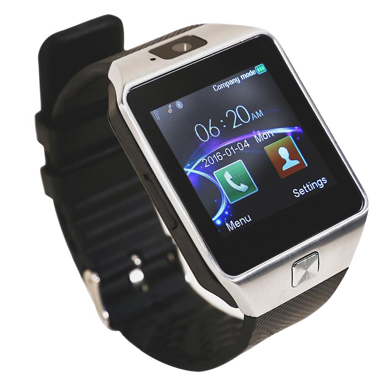 Часы Smart watch DZ09  Sim card и TF card  camera (БЕЗ ВЫБОРА ЦВЕТА)  + ПОДАРОК: Настенный Фонарик с