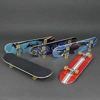 Скейт 3008 А (12) колёса PU диаметром 5 см, китайский клен, подшипники ABEC-5, подвеска - алюминий