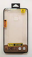 Чехол на Самсунг Galaxy S7 edge G935F Baseus Air тонкий Силикон Прозрачный