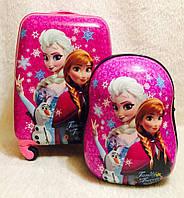 Комплект Чемодан дорожный+ранец детский Frozen  Холодное Серце 516-5
