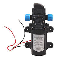 Мини водяной мембранный насос высокого давления 12 В 60 Вт 5L/min 0.8Mpa Model A, фото 1