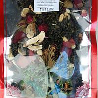 Китайский зеленый  чай   Улун Жень Шень цветочный  высший сорт в  оригинальной упаковке 100 грамм