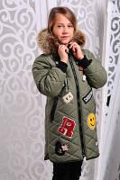 Теплая куртка для девочек, фото 1