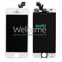 Iphone 5 LCD+touchscreen white high copy (TEST)