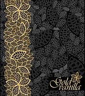 Пакет с петлевой ручкой 40х50 матовый Gold Vanilla