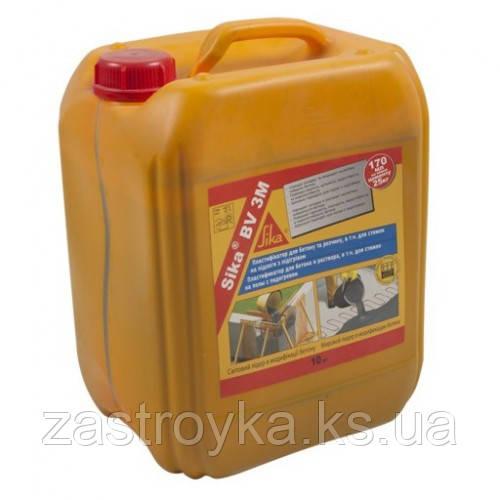 Пластифікатор для бетонів, розчинів і теплих підлог Sika Sikament BV 3M, 6кг