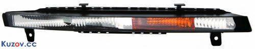 Дневные ходовые огни Audi Q7 10-14 прав., длинные (Depo) 446-1604R-UQ 4L0953042C