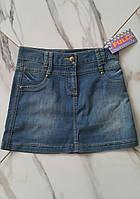 Джинсовая юбка для девочек 146 роста Full Girls, фото 1
