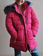 Зимняя куртка-парка на тинсулейте, детско-подростковая коллекция в наличии