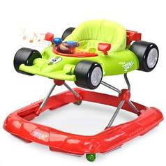 Детские ходунки Caretero Speeder Green