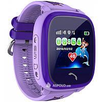 Детские умные GPS часы smart baby watch DF25 (Q100 aqua)