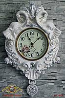 """Часы настенные """"Слоны в декоре""""."""
