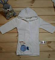 Халат махровый детский с 2-4 лет .Оптом .Турция