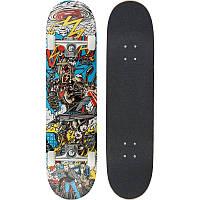 Скейтборд Oxelo Mid 5 Robot