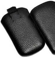 Чехол-карман вертикальный для Fly IQ445 black