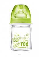 Антиколиковая бутылочка Canpol Babies EasyStart Чистое стекло 120 ml.