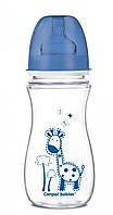 Антиколиковая бутылочка с широким отверстием Canpol Babies EasyStart Цветные зверюшки 300 ml.