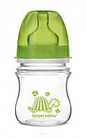 Антиколиковая бутылочка с широким отверстием Canpol Babies EasyStart Цветные зверюшки 120 ml.