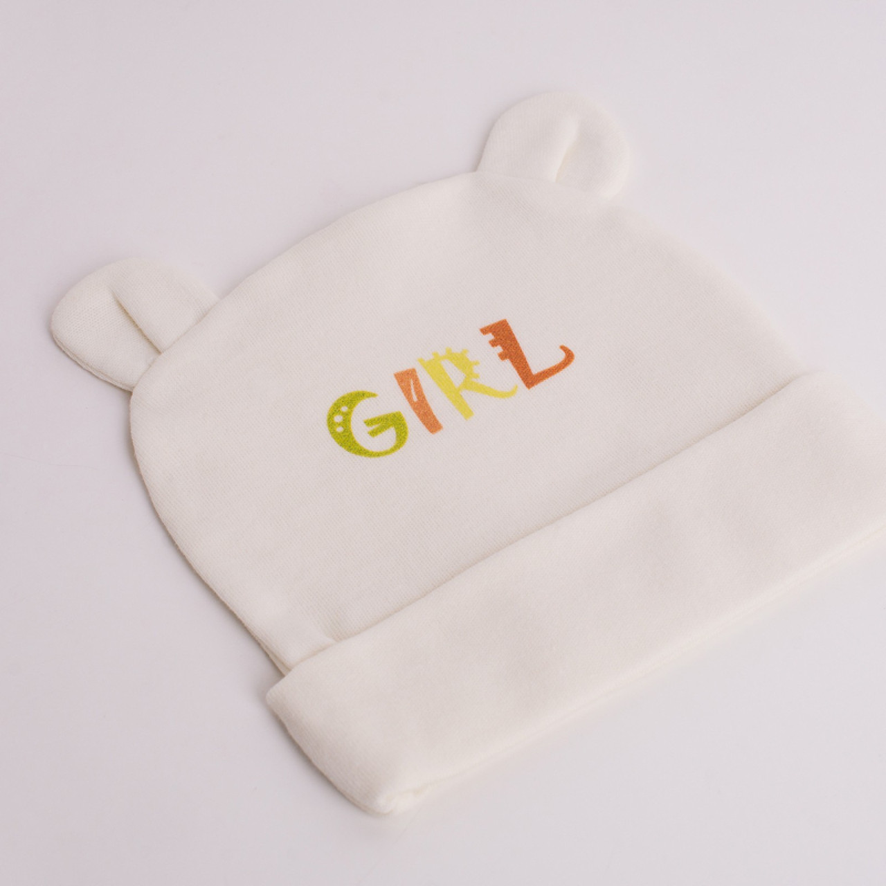 "Шапочка для новонароджених ""GIRL"""