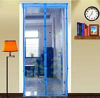 Противомоскитная дверная сетка на магнитах, 1м*2,2м