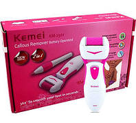 Электрическая роликовая пилка Kemei KM 2501