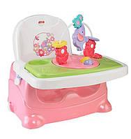Детский стульчик для кормления бустер Fisher-Price Pretty in Pink Booster Seat, Elephant