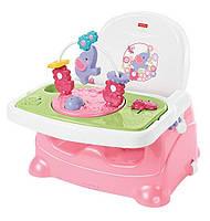 Детский стульчик для кормления бустер Слоник Fisher-Price Pretty in Pink Booster Seat Elephant