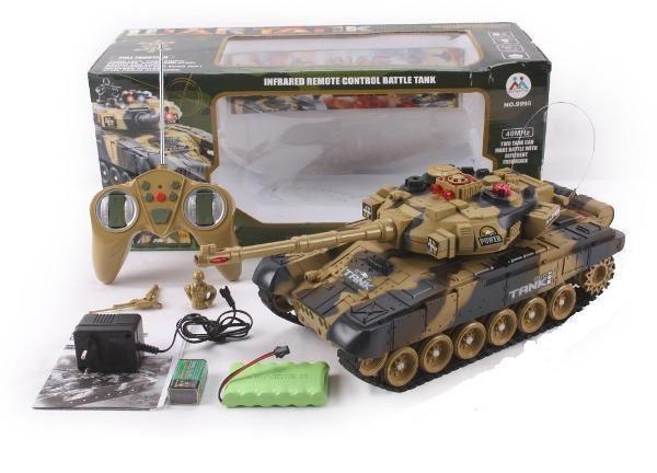 Іграшковий танк на радіокеруванні 9995