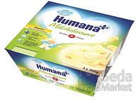 Продукт кисломолочный Humana с бананом и натуральными пробиотиками, 4 шт.
