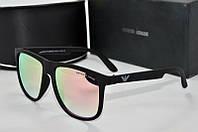 Солнцезащитные очки квадратные Armani розовые
