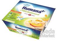 Продукт кисломолочный Humana с персиком и натуральными пробиотиками, 4 шт.