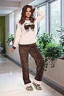 Домашняя одежда Lady Lingerie - Велюровый костюм 15150 ХL