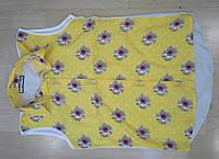 Шифоновая блузка в цветочки - Одесса