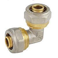 Угол соединительный 16*16 для металлопластиковой трубы