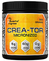 КРЕАТИН POWERFUL PROGRESS CREA-TOR MICRONIZED 300 Г