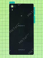 Задняя крышка Sony Xperia Z2 D6502 с скотчем Копия АА Черный