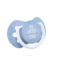 Силиконовая динамическая пустышка Lovi My Little Love (0-2 мес), 2 шт., фото 1