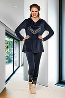 Домашняя одежда Lady Lingerie - Велюровый костюм 15430 XL