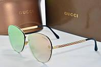 Солнцезащитные очки Gucci розовые