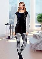 Домашняя одежда Lady Lingerie - Велюровый костюм 15585 L