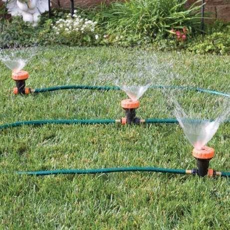 Автоматическая система полива Portable Sprinkler System - автополив газона