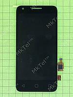 Дисплей Alcatel One Touch Pixi 4027D с сенсором Оригинал Китай Черный