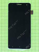 Дисплей FLY FS504 Cirrus 2 с сенсорным экраном Копия АА Черный