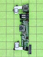 Плата разъема USB Samsung Galaxy A8 SM-A800F, copyA