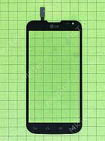 Сенсор LG L90 Dual D410 Оригинал элем. Черный