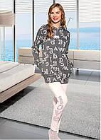 Домашняя одежда Lady Lingerie - Велюровый костюм 15610 L