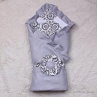 """Летний конверт-одеяло для новорожденных """"Богемия"""""""