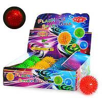 """Мяч массажный M 0086 U/R """"Spiky Ball"""", 7,5 см, 12 шт. в упаковке (Y)"""